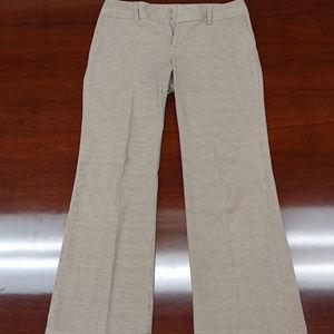 Gap Stretch Pants gold plaid size 8